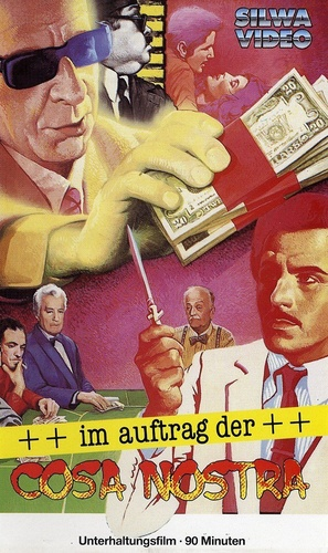 Cose di Cosa Nostra - German VHS movie cover (thumbnail)