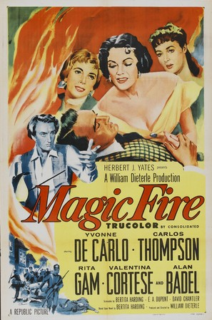 Magic Fire - Movie Poster (thumbnail)
