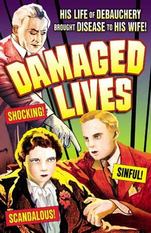 Damaged Lives - DVD movie cover (thumbnail)