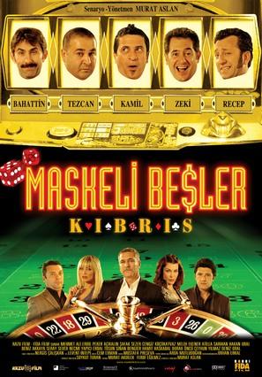 Maskeli besler kibris - Turkish Movie Poster (thumbnail)