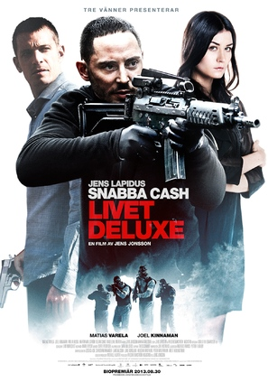 Snabba cash - Livet deluxe - Swedish Movie Poster (thumbnail)