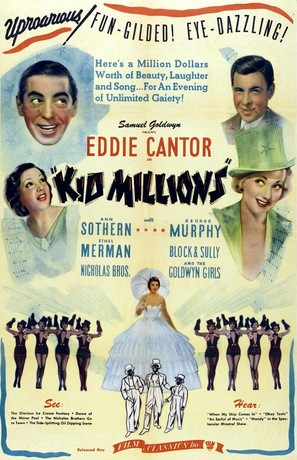 Kid Millions - Re-release poster (thumbnail)