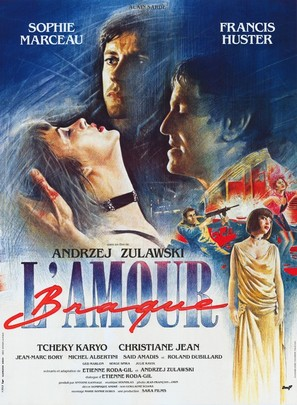 L'amour braque - French Movie Poster (thumbnail)