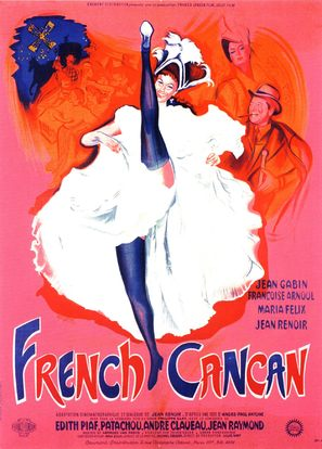 French Cancan - French Movie Poster (thumbnail)