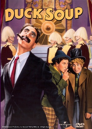 Duck Soup - DVD cover (thumbnail)