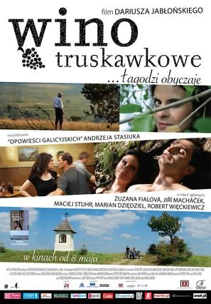 Wino truskawkowe - Polish Movie Poster (thumbnail)