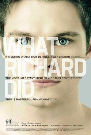 What Richard Did - Irish Movie Poster (thumbnail)