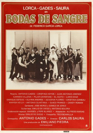 Bodas de sangre - Spanish Movie Poster (thumbnail)