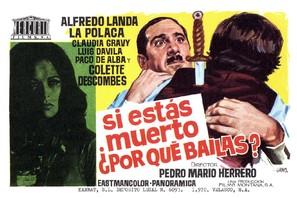 Si estás muerto, ¿por qué bailas? - Spanish Movie Poster (thumbnail)