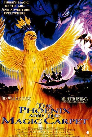 The Phoenix and the Magic Carpet - Movie Poster (thumbnail)