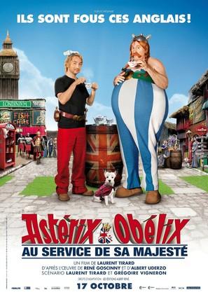 Astérix et Obélix: Au Service de Sa Majesté - French Movie Poster (thumbnail)