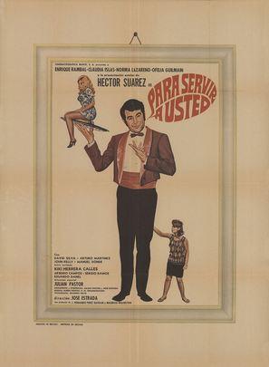 Para servir a usted - Mexican Movie Poster (thumbnail)