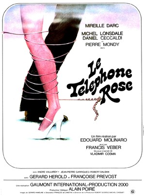 Le téléphone rose - French Movie Poster (thumbnail)