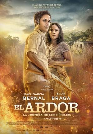 El Ardor - Argentinian Movie Poster (thumbnail)