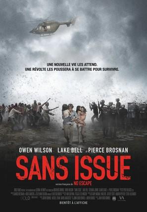 No Escape - Canadian Movie Poster (thumbnail)