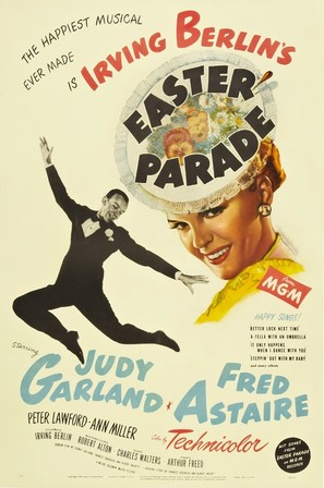 Easter Parade - Movie Poster (thumbnail)