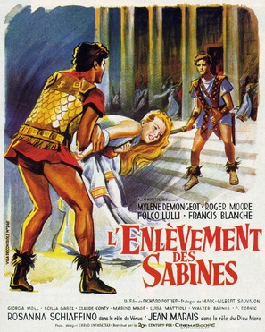 Ratto delle sabine, Il - French Movie Poster (thumbnail)