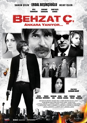 Behzat Ç. Ankara yaniyor - German Movie Poster (thumbnail)