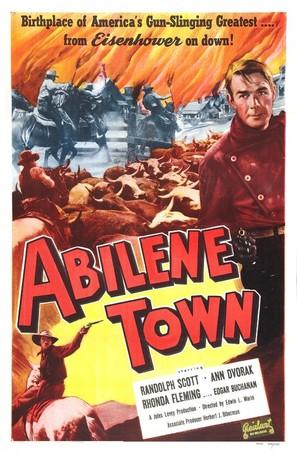 Abilene Town - Re-release movie poster (thumbnail)