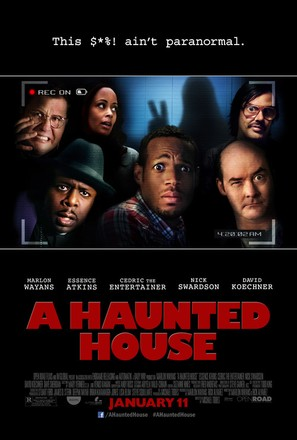 A Haunted House - Movie Poster (thumbnail)