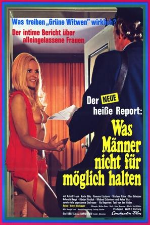 Der neue heiße Sex-Report - Was Männer nicht für möglich halten - German Movie Poster (thumbnail)