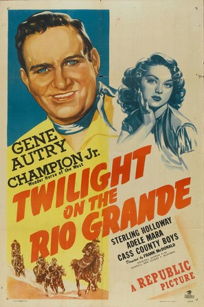 Twilight on the Rio Grande - Movie Poster (thumbnail)