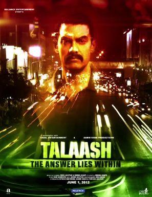 Talaash - Indian Movie Poster (thumbnail)