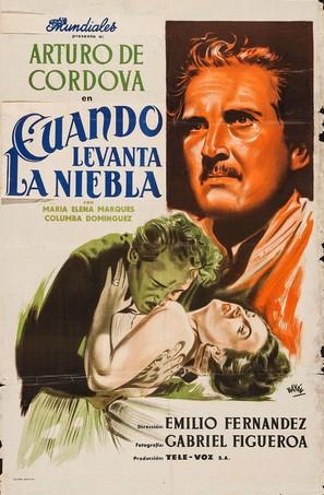 Cuando levanta la niebla - Argentinian Movie Poster (thumbnail)