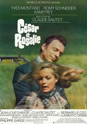 César et Rosalie - French Movie Poster (thumbnail)
