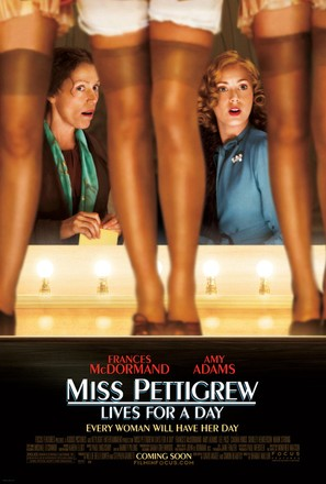Miss Pettigrew Lives for a Day - Movie Poster (thumbnail)