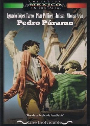 Pedro Páramo - Mexican DVD movie cover (thumbnail)