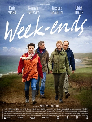 Week-ends - French Movie Poster (thumbnail)