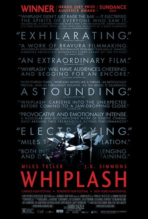 Whiplash - Movie Poster (thumbnail)
