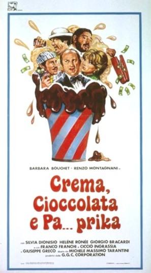 Crema cioccolato e pa...prika
