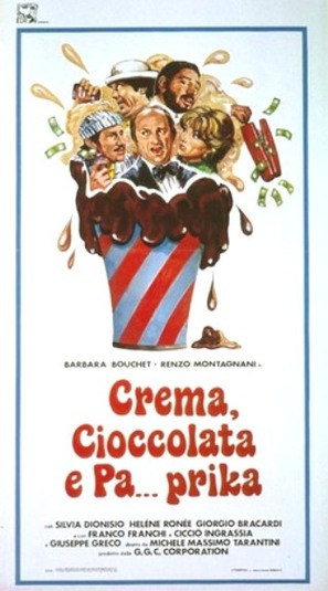 Crema cioccolato e pa...prika - Italian Movie Poster (thumbnail)