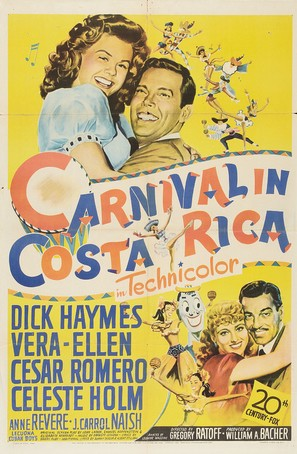 Carnival in Costa Rica - Movie Poster (thumbnail)