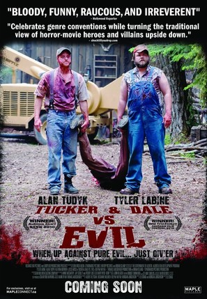 Tucker and Dale vs Evil - Canadian Movie Poster (thumbnail)