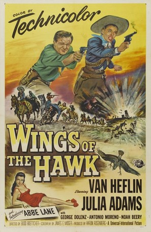 Wings of the Hawk - Movie Poster (thumbnail)