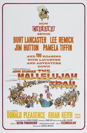 The Hallelujah Trail - Movie Poster (thumbnail)