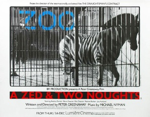 A Zed & Two Noughts - British Movie Poster (thumbnail)