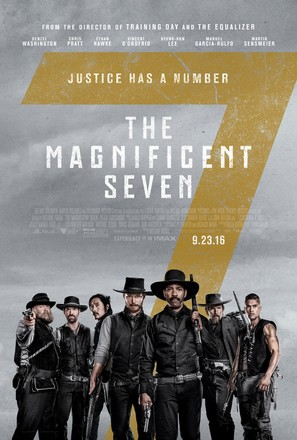 The Magnificent Seven - Theatrical poster (thumbnail)