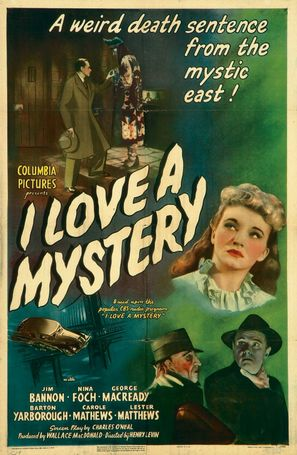 I Love a Mystery - Movie Poster (thumbnail)