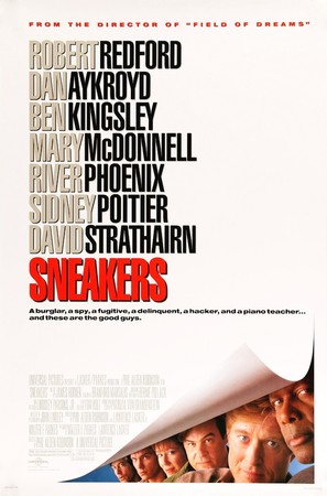 Sneakers - Movie Poster (thumbnail)