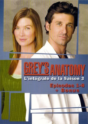 """Grey's Anatomy"" - French DVD movie cover (thumbnail)"