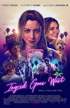 Ingrid Goes West - Movie Poster (thumbnail)