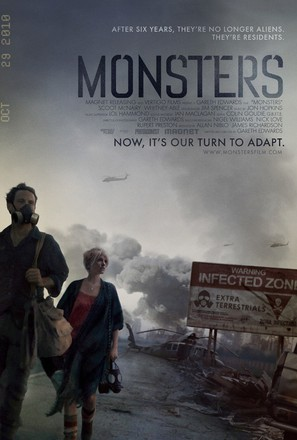 Monsters - Movie Poster (thumbnail)