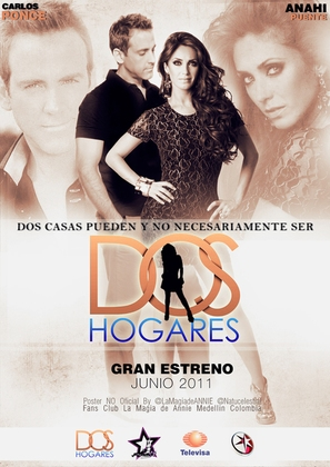 """Dos hogares"" - Mexican Movie Poster (thumbnail)"