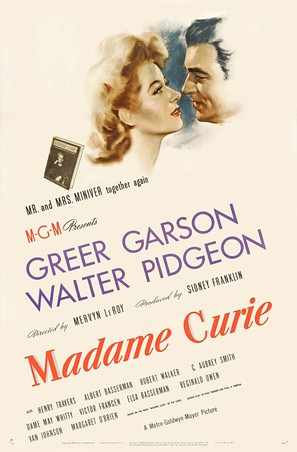Madame Curie - Movie Poster (thumbnail)
