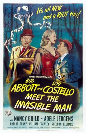 Abbott and Costello Meet the Invisible Man - Movie Poster (thumbnail)