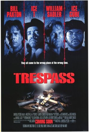 Trespass - Movie Poster (thumbnail)